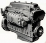 Piston-Less Detroit Diesel 6-71 Engine In-frame / Overhaul Rebui