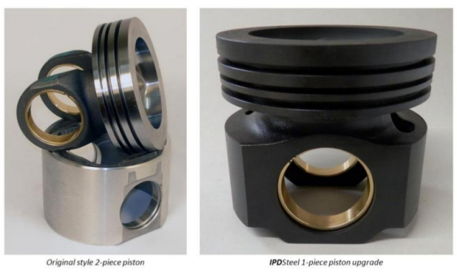 Upgraded 1 Piece Steel Pistons for CAT 3406E & C15 (single